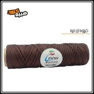 طناب میکروکورد قهوه ای تیره