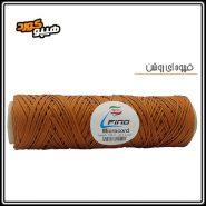 طناب میکروکورد قهوه ای روشن
