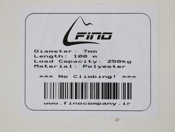 مشخصات طناب 7 میل فینو
